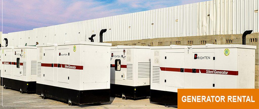 generator rental dubai