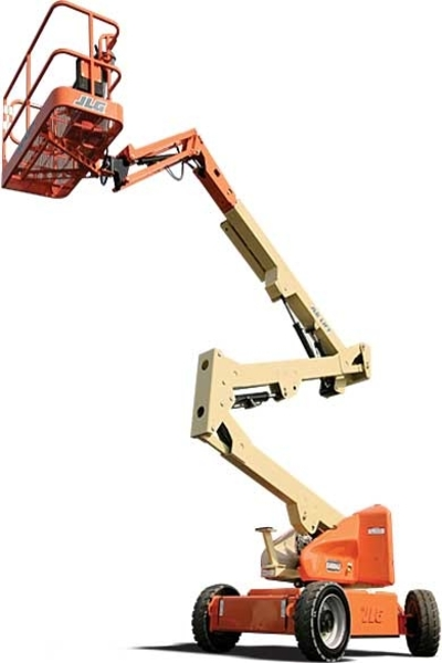 E45Aj articulated boom lift available on hire